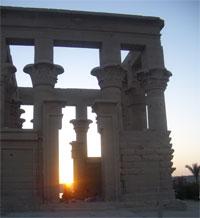 Temple of Horus at Dawn